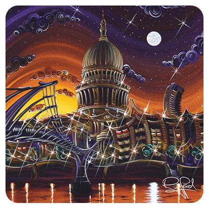 St Pauls Starlight Coaster