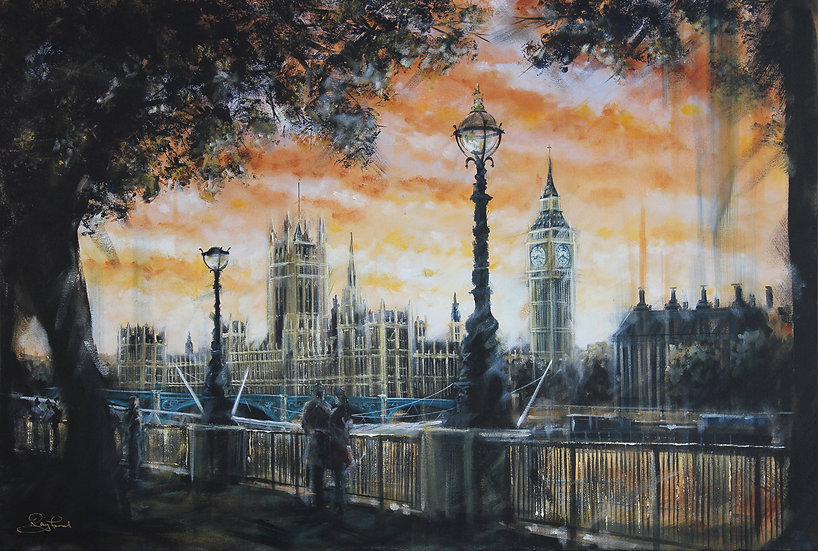"""Sunset on Parliament"""