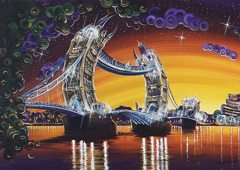 "Greetings Card - ""Tower Bridge"""