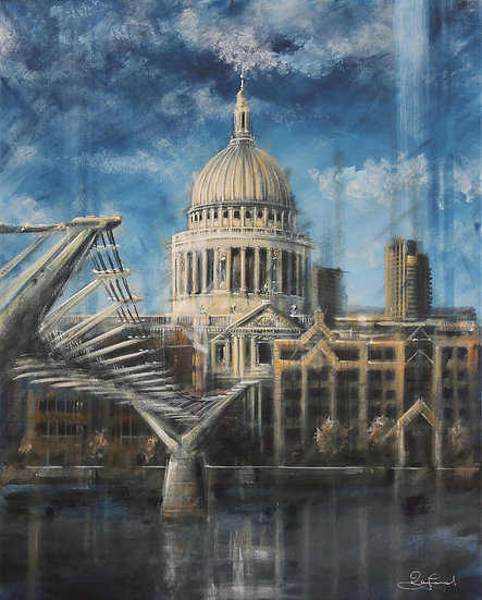 """Bridge to St. Pauls"""