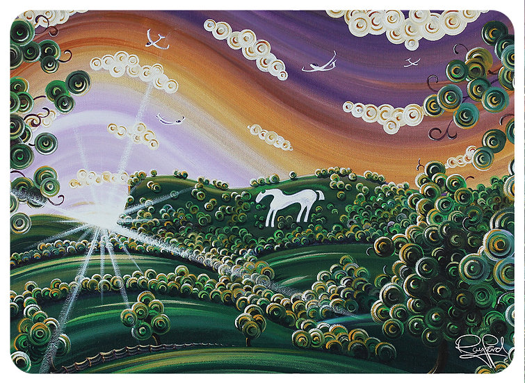 White Horse Placemat