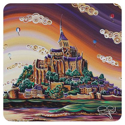 Mont St Michel Coaster
