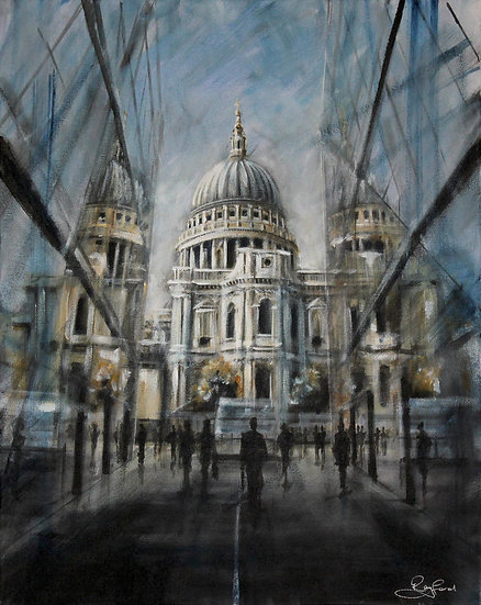"""Reflecting at St. Paul's"""