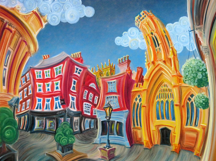"Greetings Card - ""St Helen's Square"""