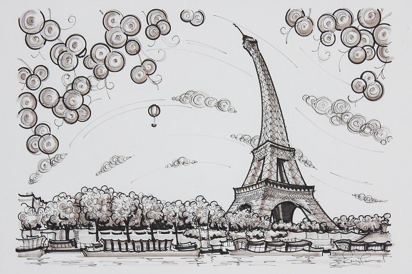On the Seine Sketch