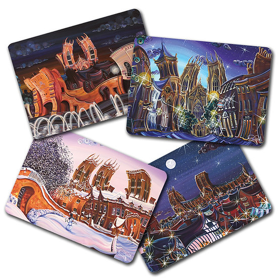 Set of 4x Placemats