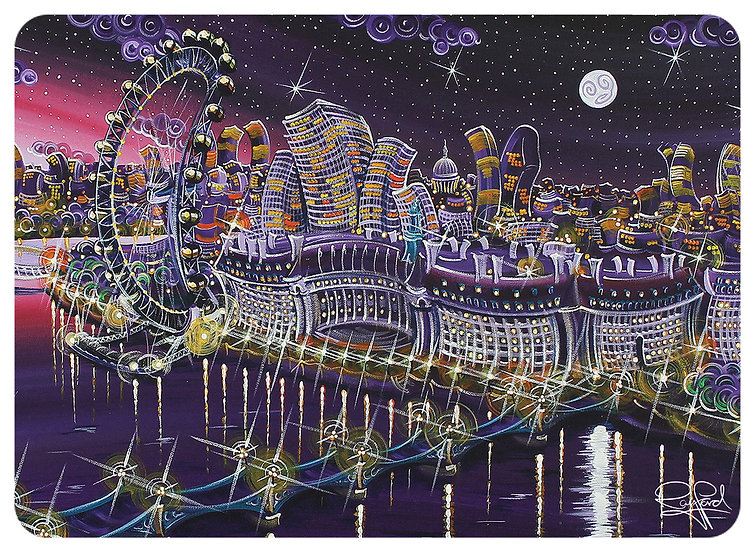 Southbank Starlight Placemat