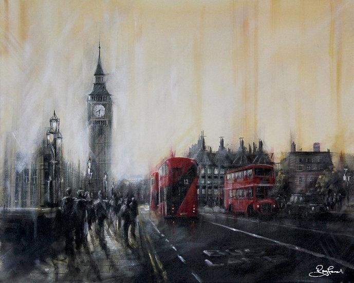"""Westminster Sunset"""