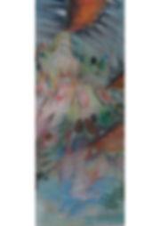 4.Les Cris, 180CMx80CM, pastel, 2018.jpg