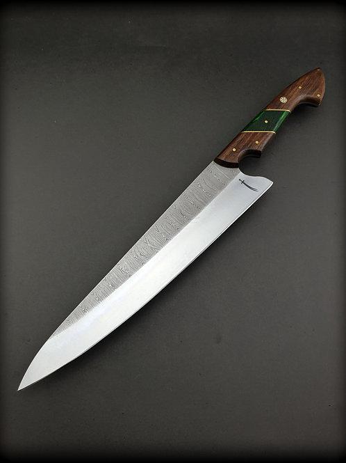 Twist Damascus Chef Knife