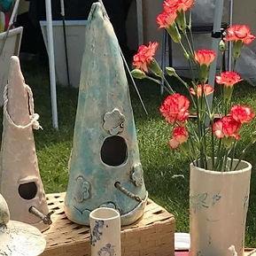 stoneware clay birdhouses.jpg
