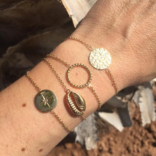 Superposition de bracelets