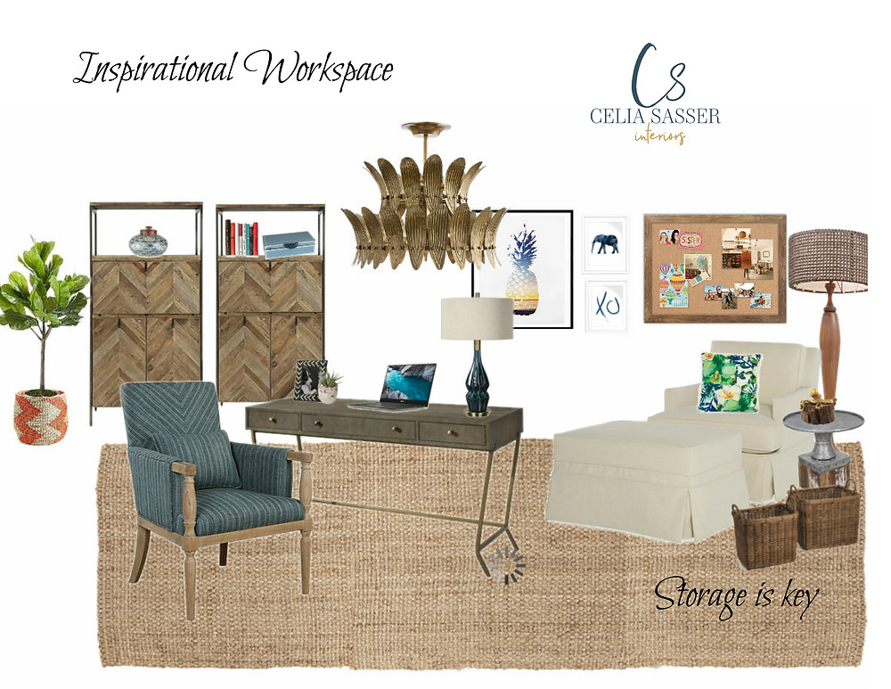 Inspirational Workspace by Celia Sasser Interiors