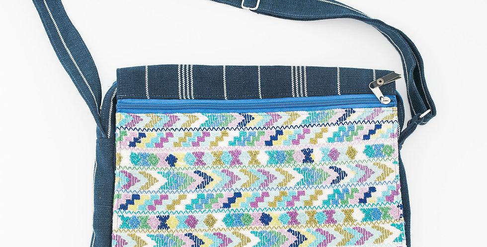 Huipil Flap Crossbody Bag