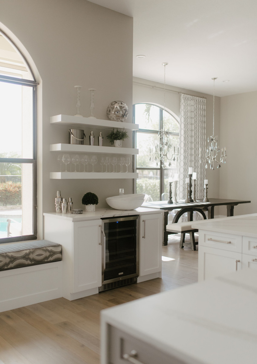 A light and modern home interior design by HW Interiors