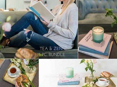 Tea & Zen | 15 Pc. Bundle