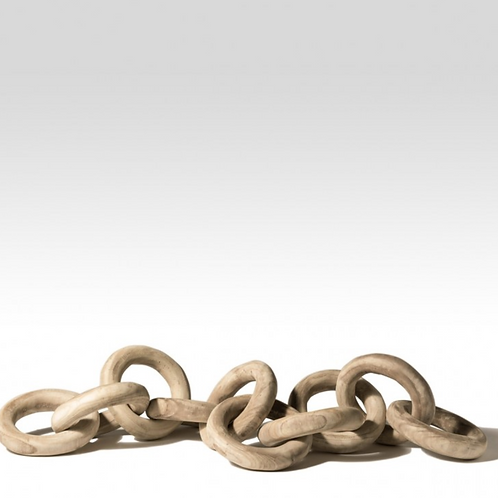 Oversized Wood Chains