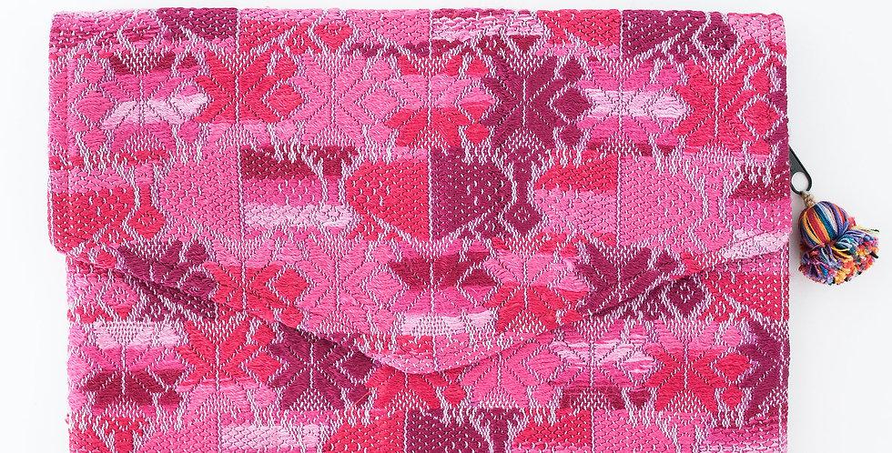 Comalapa Embroider Clutch