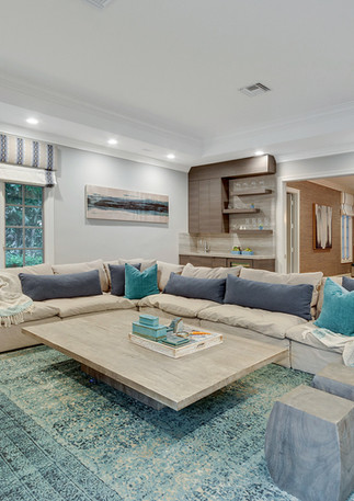 Elevated style and sophistication coupled with warm and inviting family friendly spaces interior design by HW Interiors.