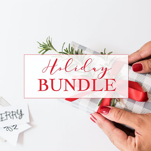 Holiday Lifestyle 8 Pc. Stock Bundle