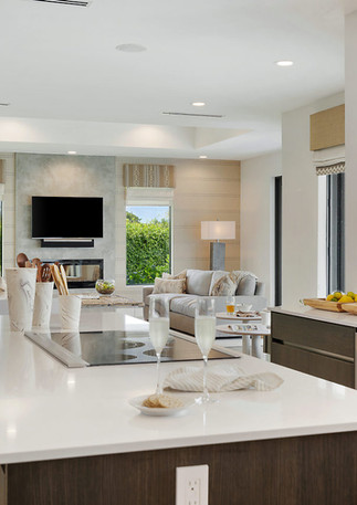 Neutral and timeless with pops of color to show the intricate details throughout interior design by HW Interiors.