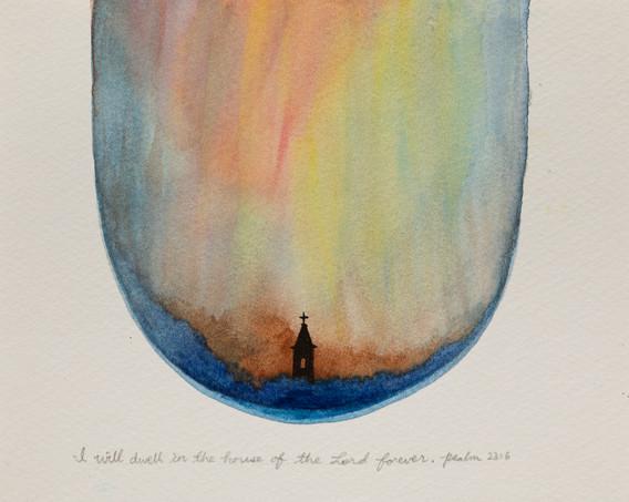 마음일지 – 시편기도 23:6 I will dwell in the house of the Lord forever