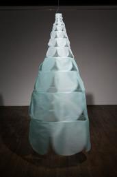 Empty/Fill Fabric (Nobang) 90x90x185cm 2016