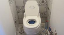 Les toilettes à Lomézon