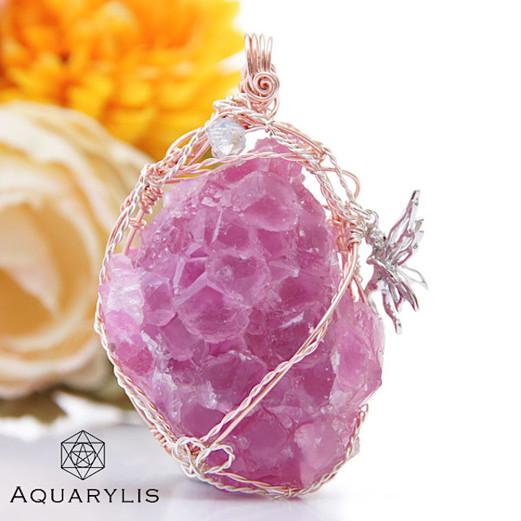 AQUARYLIS_GemArt_Pinkcobaltcalcite_penda