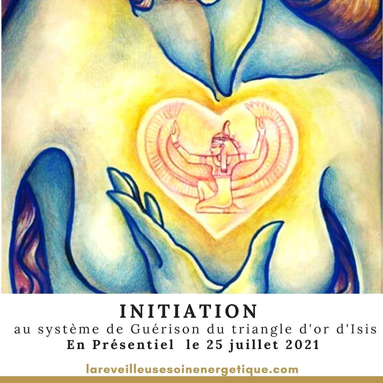 """INITIATION """"Système de Guérison du triangle d'Or d'Isis"""" en présentiel"""