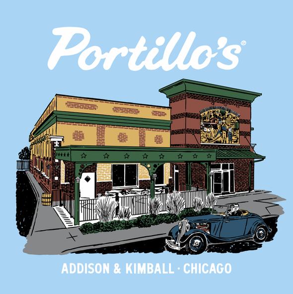 Portillo's Illustration