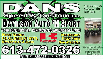 DANS Speed and Custom Marmora Ontario
