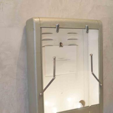 glass case/light
