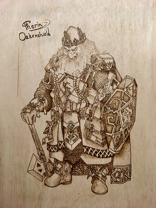 Thorin II Oakenshield from Hobbit