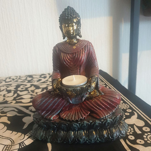 Bougeoir Bouddha Antique