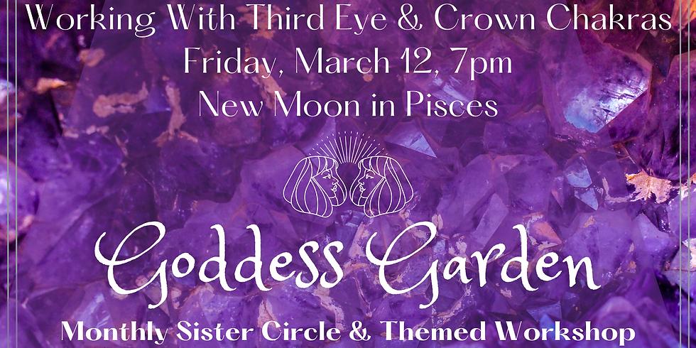 Virtual Women's Circle - Third Eye & Crown Chakras
