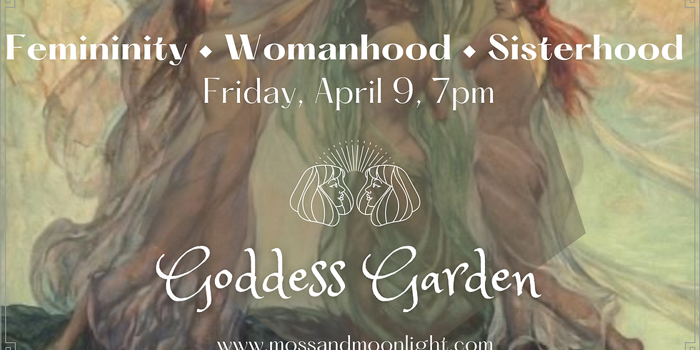Virtual Women's Circle - Femininity, Womanhood, Sisterhood