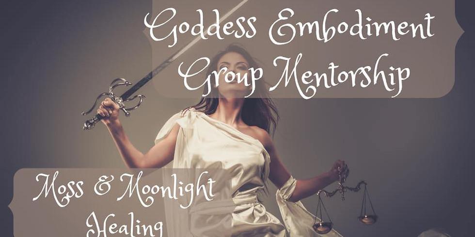 Goddess Embodiment Webinar