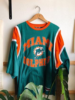 1997 Dolphins 3/4 Sleeve