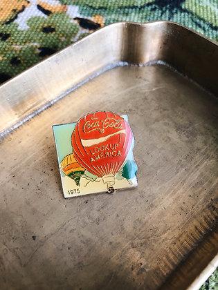 1975 Coca Cola Pin