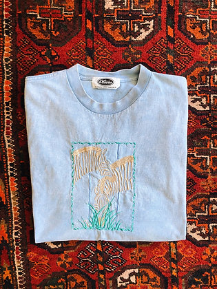 Embroidered Zebras Tee