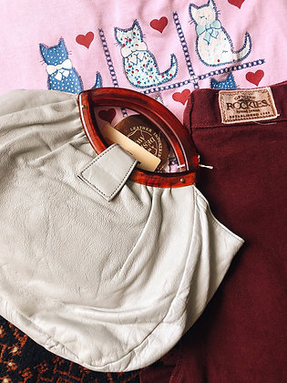 Deadstock Leather Handbag