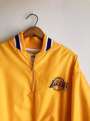 Lakers Quarter Zip Windbreaker