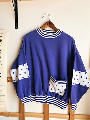 Polka Dotted Pullover