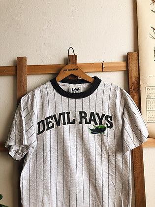 1998 Devil Rays Striped Tee