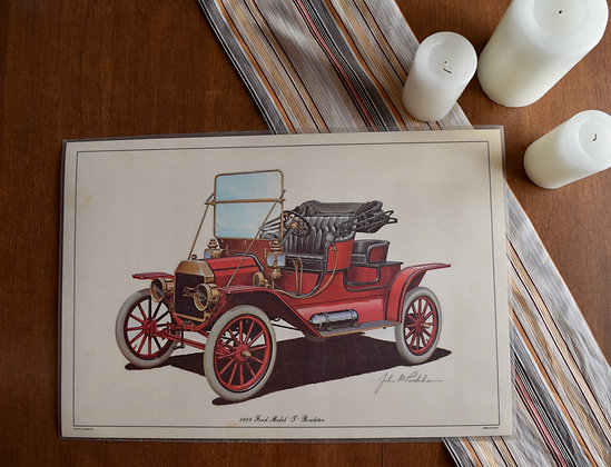 Ford 75th Anniversary 1909 Model T Print