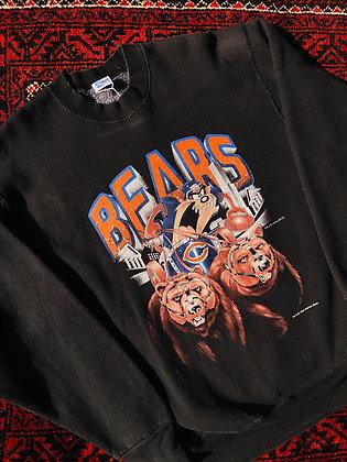 1993 Chicago Bears Taz Pullover