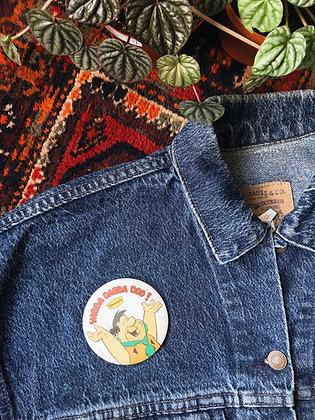 Denny's Flinstones Pin