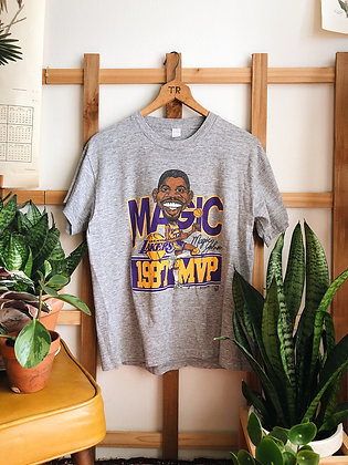 1987 Magic Johnson Lakers MVP Tee