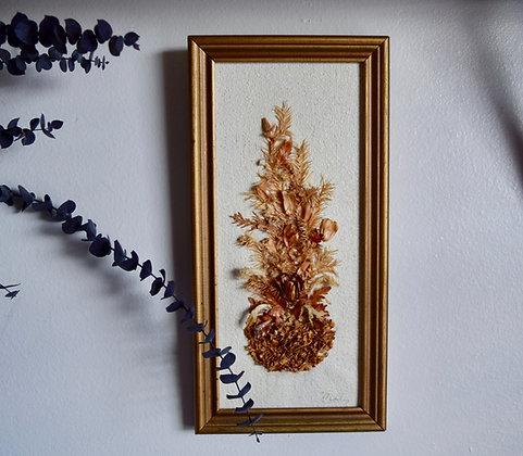 Homemade 1995 Dried Flower Bouquet